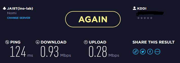 WiMAXテスト1