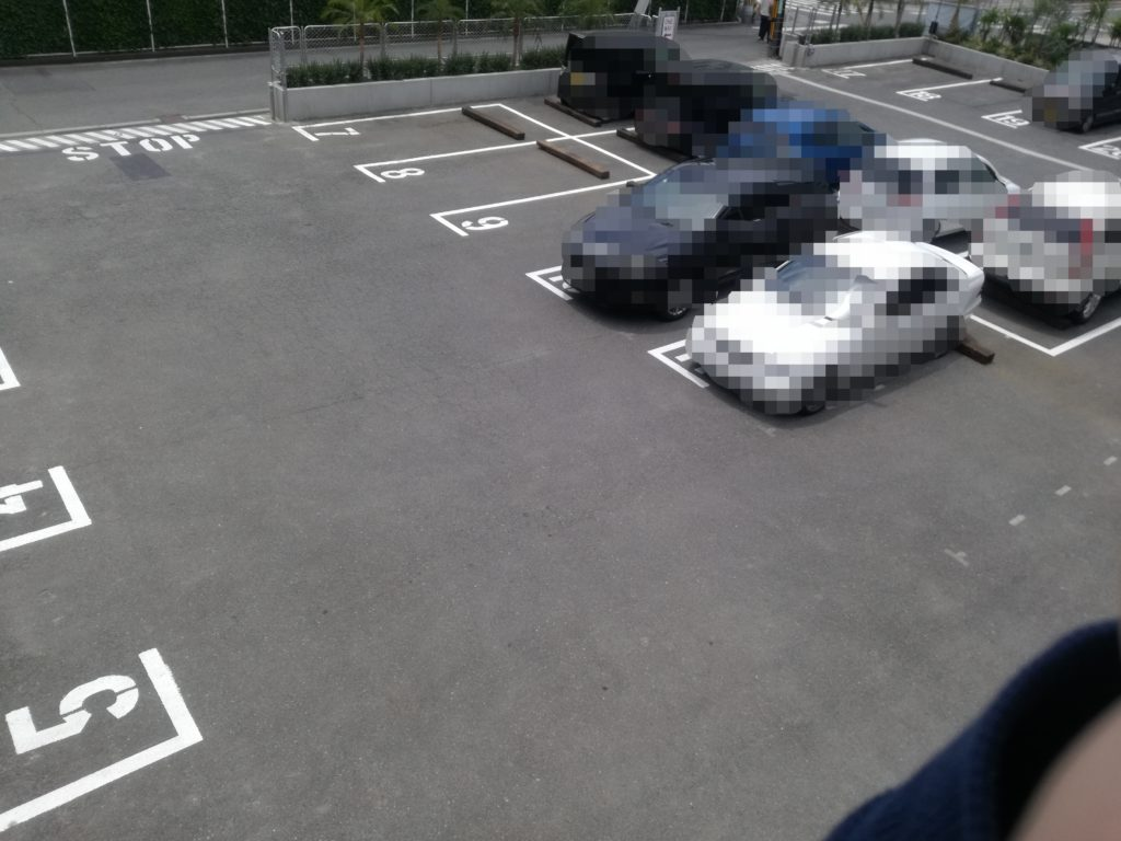 DULTON駐車場